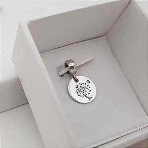 Pingente ou Berloque árvore da vida medalha 1,3cm