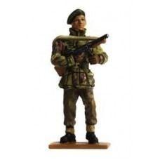 Miniatura de Chumbo Soldado Seculo XX 001 Sargento, Commandos, Uk 1944 Delprado