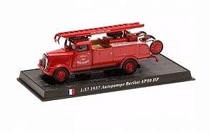 Carro De Bombeiros 1937 Premier Secours Berliet miniatura