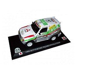 Mitsubishi Pajero Evolution Racing 1998 Coleção Delprado Escala 1:43
