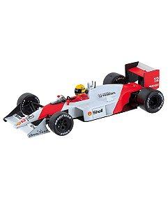 McLaren Honda MP4/4-Ayrton Senna Edição 01 Coleção Lendas Brasileiras