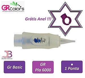 Agulha GR Basic, Pla 6000 ou Classic A, 1 Ponta , Grátis Anel !!!