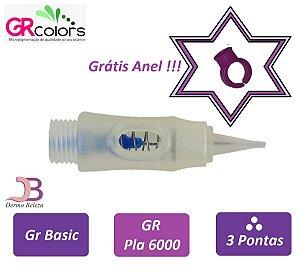 Agulha GR Basic, Pla 6000 ou Classic A, 3 Pontas , Grátis Anel !!!
