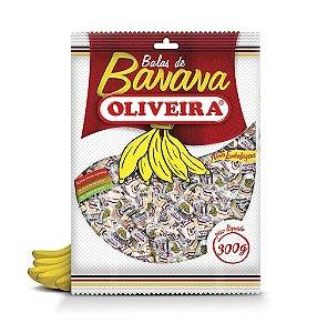Bala de Banana Oliveira - 25 Pacotes de 300g