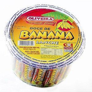 Banana Lanche Oliveira - 12 Potes de 600g