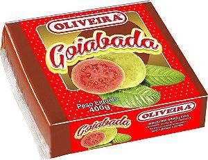 Goiabada Oliveira - 24 unidades de 400g