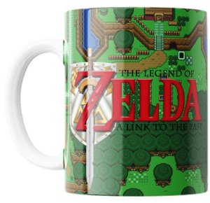 Caneca Colecionável - Legend of Zelda a Link To The Past