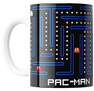 Caneca Personalizada Pac MAN - Colecionável Old Players