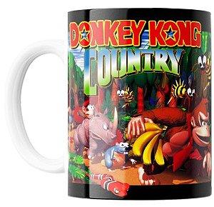 Caneca Colecionável -  DONKEY KONG COUNTRY