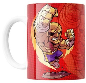 Caneca Sagat - Street Fighter