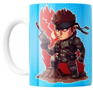 Caneca Jogo Metal Gear Solid