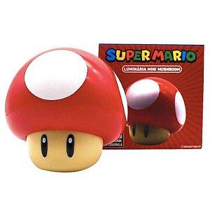 Luminária Sonora Cogumelo - Mario Bros