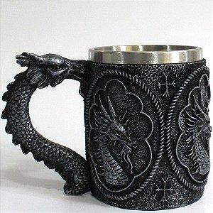 INOX - Caneca Dragão Negro.