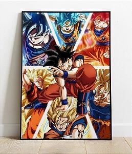 Placa Decorativa -  Dragon Ball