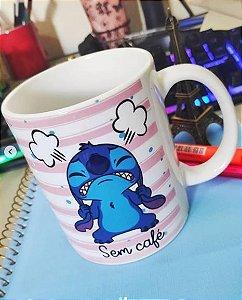 Caneca Stitch - Com Café e Sem Café