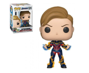 Capitã Marvel - Vingadores Ultimato - Funko Pop