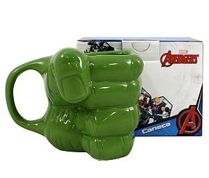 Caneca Mão Hulk Marvel