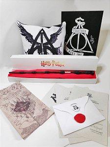 BOX BECO NERD - Relíquias da Morte ( Harry Potter)