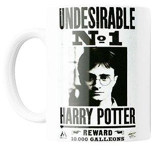Caneca Harry Potter Procurado - UNDESIRABLE