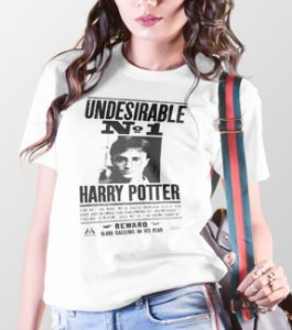 Camiseta Baby Look - Harry Potter Undesirable No 1