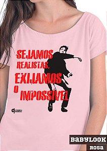 Camiseta Exijamos o Impossível