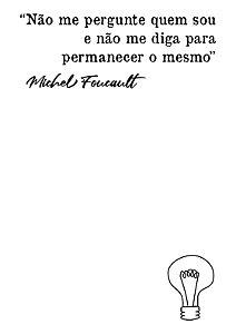 Camiseta Foucault