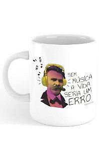 Caneca Nietzsche & Música