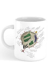 Caneca Jornada do Herói em Tolkien