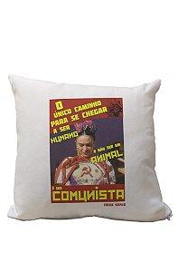 Almofadinha Frida Kahlo Comunista