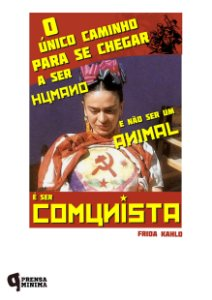 Camiseta Frida Kahlo Comunista