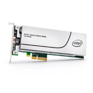 SSD PCI-E Intel 750 Series 1.2TB (2600MBp/s)