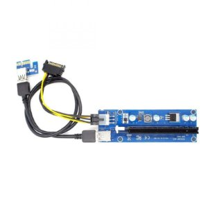 Extensor Riser PCI-e 1X -16X USB 3.0 Mineração CryptoCurrency