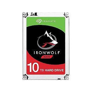 HD Seagate IronWolf 10TB NAS Sata 6.0GBp/s 256MB