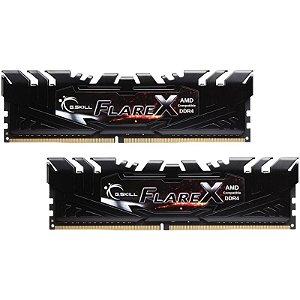 Memória RAM G.Skill Flare DDR4 16GB 2x8GB 3200Mhz
