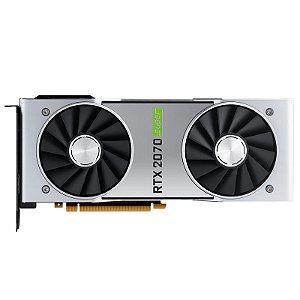 Placa de Vídeo NVIDIA GeForce RTX 2070 - Super 8GB - Founders Edition (Usada)