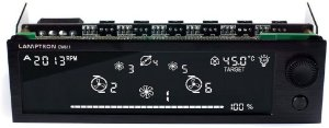 Controlador De Fan Lamptron CW611 Touch (36W Por Canal)