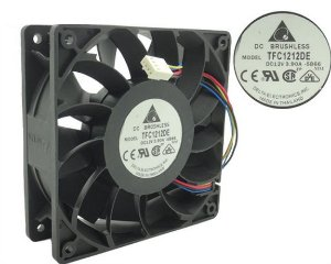 Fan 120X38MM Delta TFC1212DE 5500RPM @ 256CFM Extreme