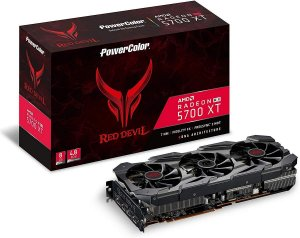 Placa De Vídeo AMD Power Color RX 5700 XT Red Devil 8GB