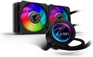 Hydro Cooler Gigabyte Aorus RGB AIO Liquid Cooler 240MM
