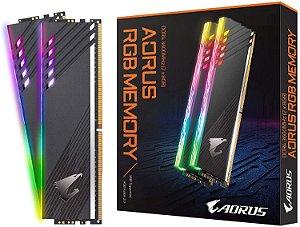 Memória RAM Gigabyte Aorus RGB DDR4 16GB 2x8GB 3600Mhz