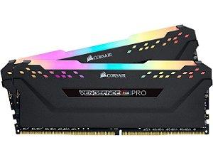 Memória RAM Corsair Vengeance RGB Pro DDR4 64GB 2x32GB 3600Mhz