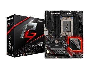 Placa Mãe AsRock X399 Phantom Gaming 6 (AMD)