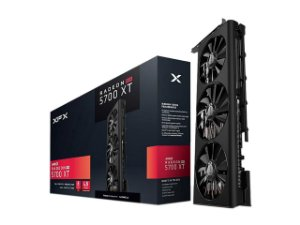 Placa De Vídeo AMD XFX RX 5700 XT Triple Dissipation 8GB