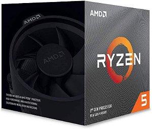 Processador AMD Ryzen 5 3600X 6-Core 3.6 GHz (4.4 GHz Max Boost)