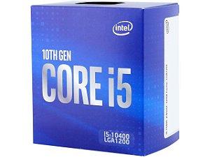 Processador Intel Core i5-10400 - 10ª Geração - LGA1200