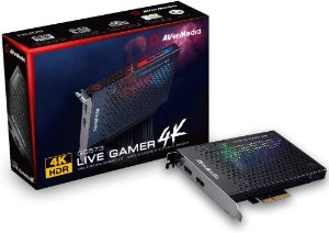 Placa De Captura AverMedia Live Gamer 4K 4KP60 HDR