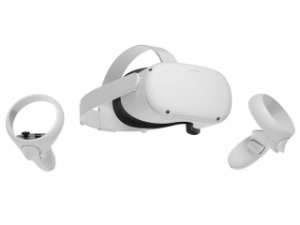 Óculos De Realidade Virtual (VR) Oculus Quest 2 All-in-one VR Gaming Headset 64GB