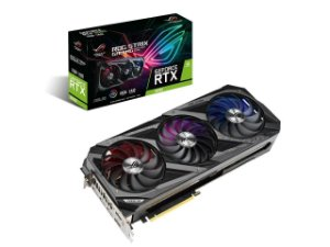 Placa de Vídeo Asus GeForce RTX 3090 24GB - Strix OC