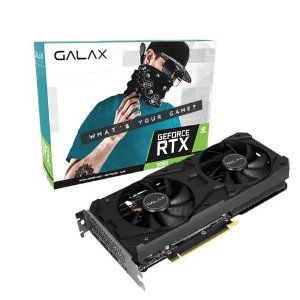 Placa de Vídeo Galax GeForce RTX 3060 12GB - 1-Click OC