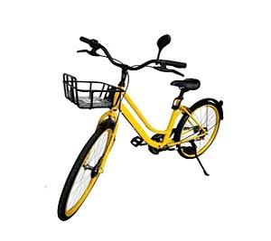 Bicicleta Vintage Retrô Aro 26 (Yellow Bike)